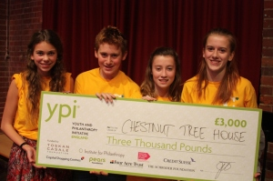 Block 4s win £3,000 for Chestnut Tree House