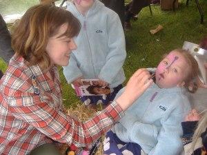 Volunteering at Green Fair
