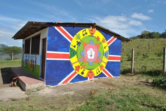 Nicaraguan school mural