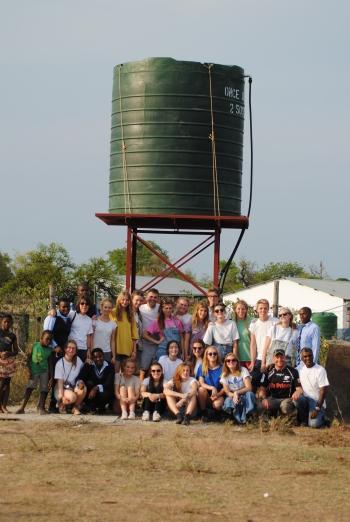 Sixth Formers help schools in Swaziland